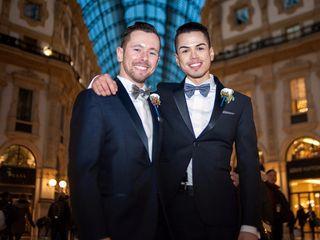 Le nozze di Alan e Nicola