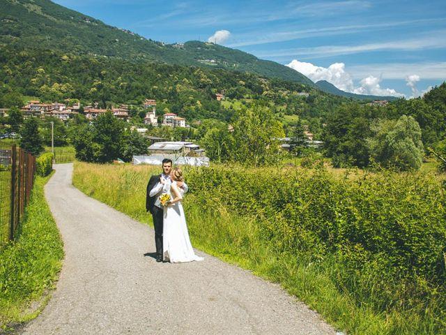 Il matrimonio di Simone e Martina a Mapello, Bergamo 180