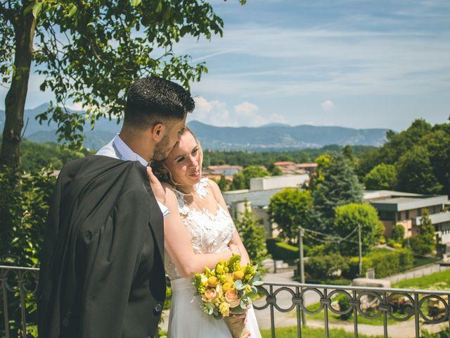 Il matrimonio di Simone e Martina a Mapello, Bergamo 188