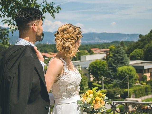 Il matrimonio di Simone e Martina a Mapello, Bergamo 189