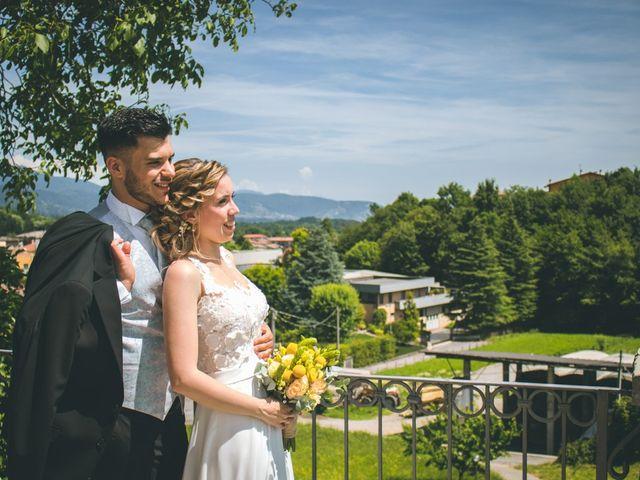 Il matrimonio di Simone e Martina a Mapello, Bergamo 190