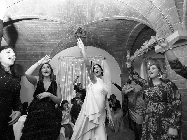 Il matrimonio di Andrea e Irene a San Miniato, Pisa 80