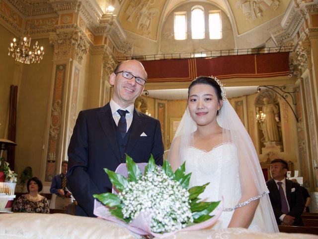 le nozze di Hye Chong e Alberto