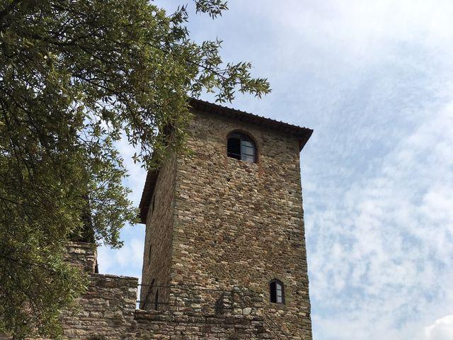 Il matrimonio di Marco e Silvia a Greve in Chianti, Firenze 8