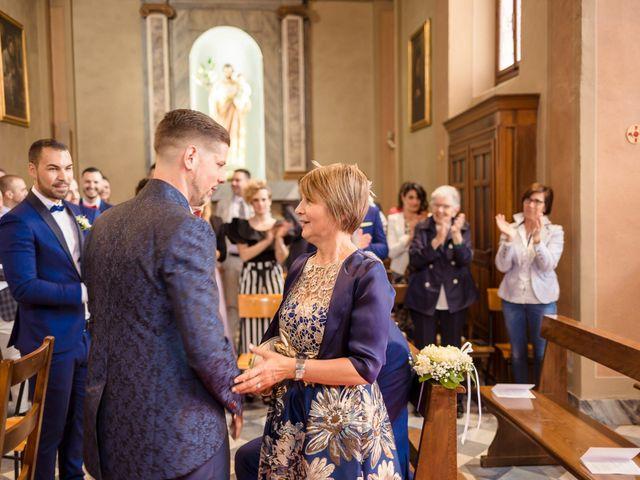 Il matrimonio di Domenico e Lorena a Barasso, Varese 30