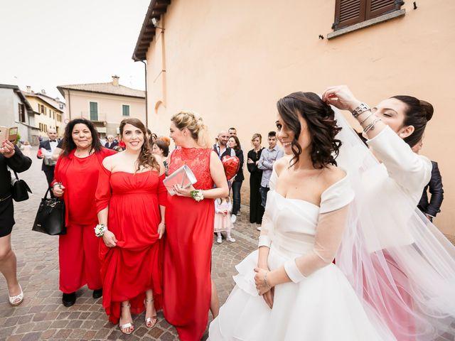 Il matrimonio di Domenico e Lorena a Barasso, Varese 32