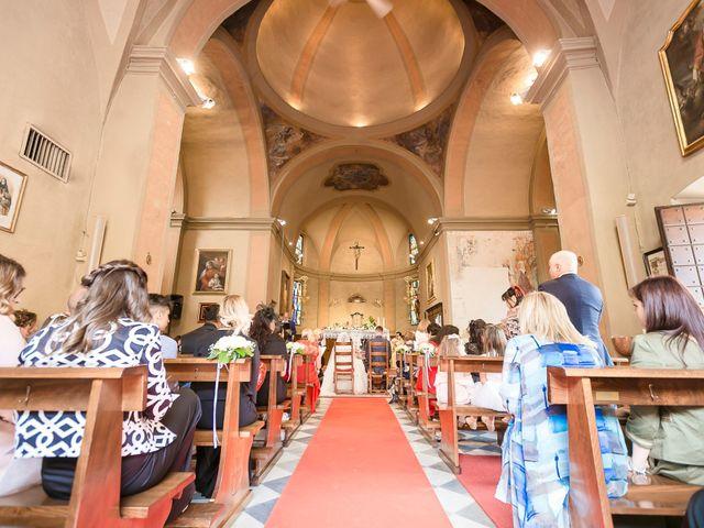 Il matrimonio di Domenico e Lorena a Barasso, Varese 34