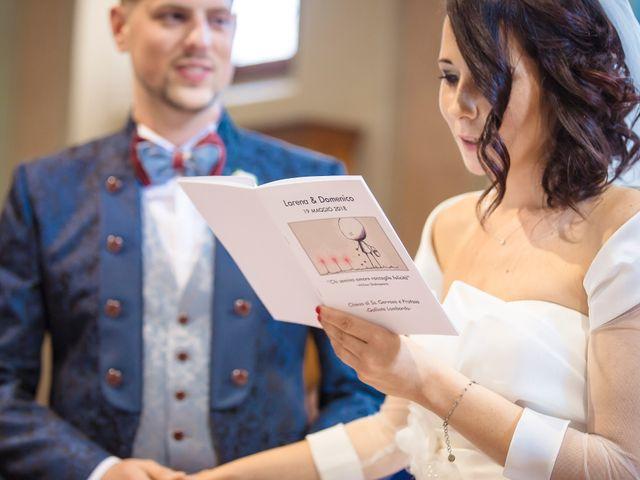 Il matrimonio di Domenico e Lorena a Barasso, Varese 37