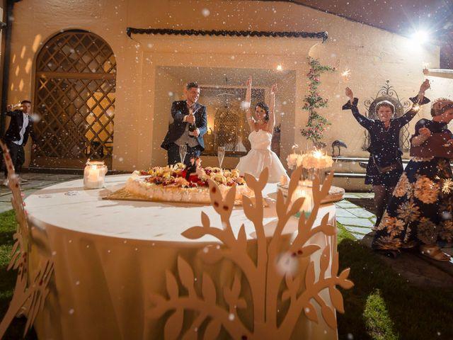 Il matrimonio di Domenico e Lorena a Barasso, Varese 67
