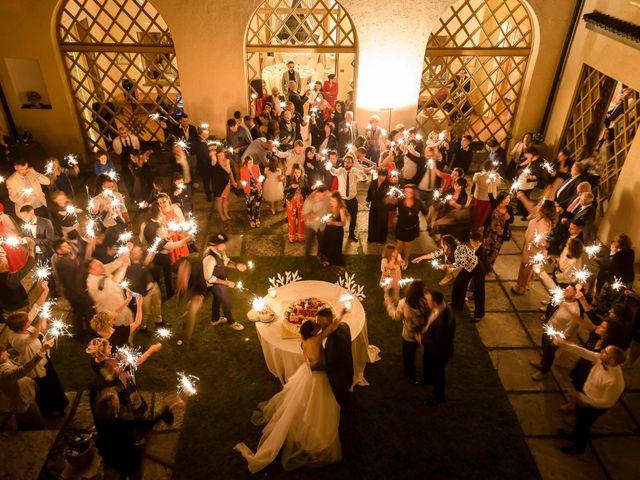 Il matrimonio di Domenico e Lorena a Barasso, Varese 68
