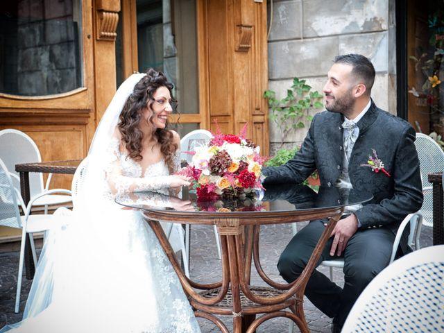 Le nozze di Sabrina e Alex