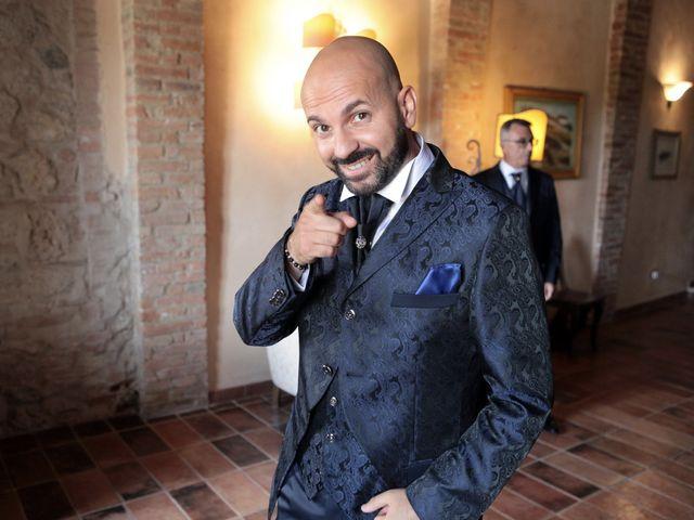 Il matrimonio di Antonio e Azzurra a Monteriggioni, Siena 11