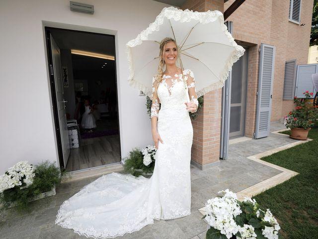 Il matrimonio di Antonio e Azzurra a Monteriggioni, Siena 22