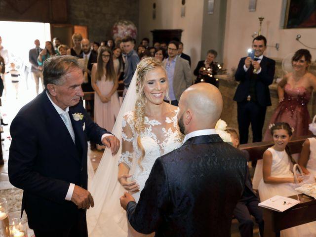 Il matrimonio di Antonio e Azzurra a Monteriggioni, Siena 31