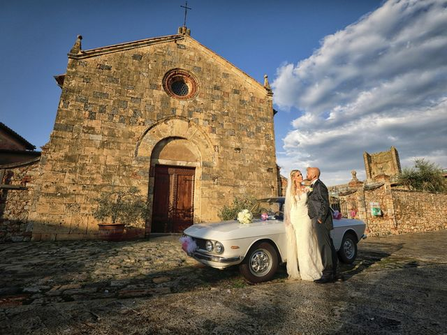 Il matrimonio di Antonio e Azzurra a Monteriggioni, Siena 1