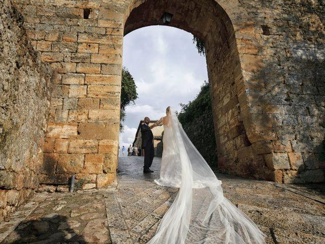 Il matrimonio di Antonio e Azzurra a Monteriggioni, Siena 44
