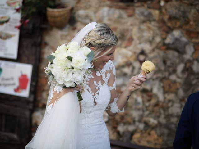 Il matrimonio di Antonio e Azzurra a Monteriggioni, Siena 45