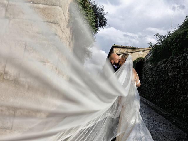 Il matrimonio di Antonio e Azzurra a Monteriggioni, Siena 48