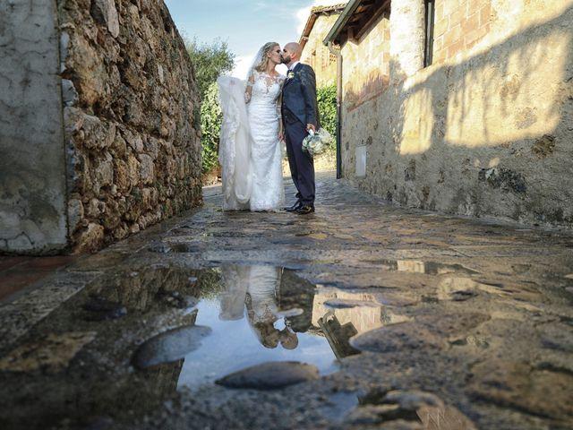 Il matrimonio di Antonio e Azzurra a Monteriggioni, Siena 49