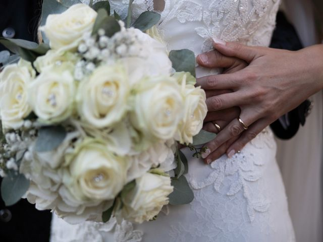 Il matrimonio di Antonio e Azzurra a Monteriggioni, Siena 53