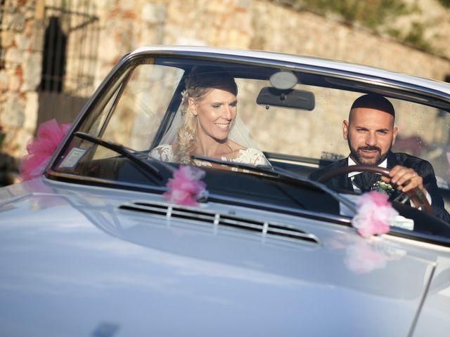 Il matrimonio di Antonio e Azzurra a Monteriggioni, Siena 54