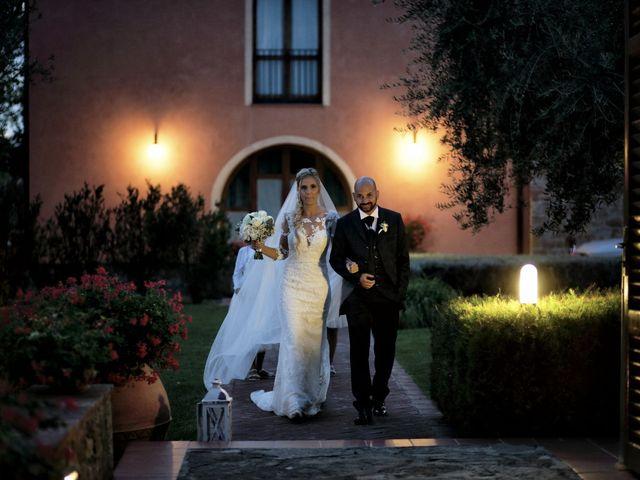 Il matrimonio di Antonio e Azzurra a Monteriggioni, Siena 57