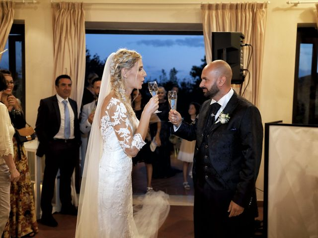 Il matrimonio di Antonio e Azzurra a Monteriggioni, Siena 58