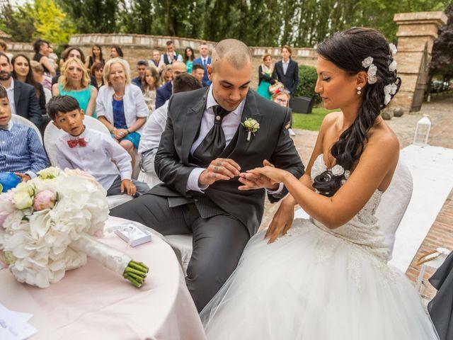 Il matrimonio di Melissa e Andrea a Bomporto, Modena 16