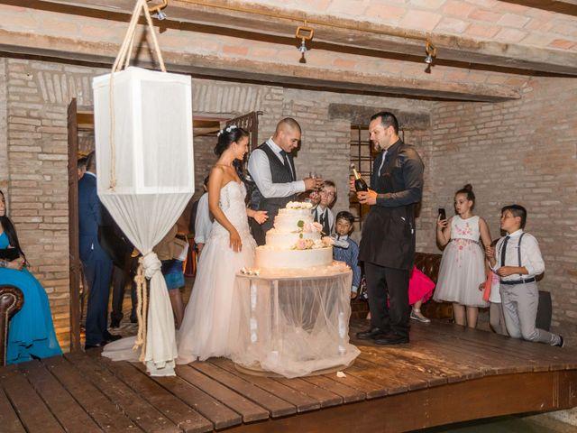 Il matrimonio di Melissa e Andrea a Bomporto, Modena 45