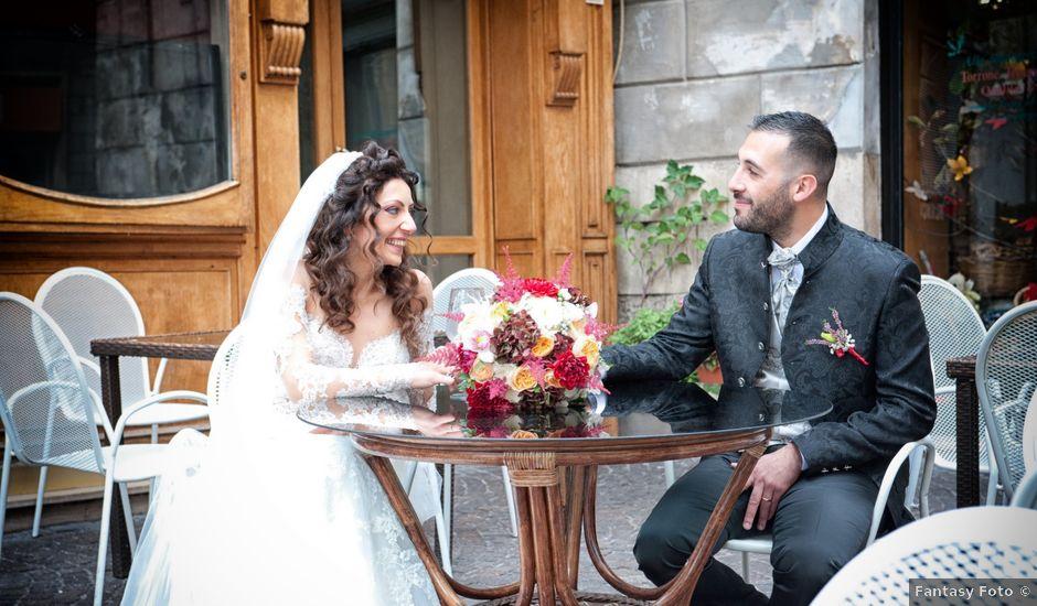 Il matrimonio di Alex e Sabrina a Sulmona, L'Aquila