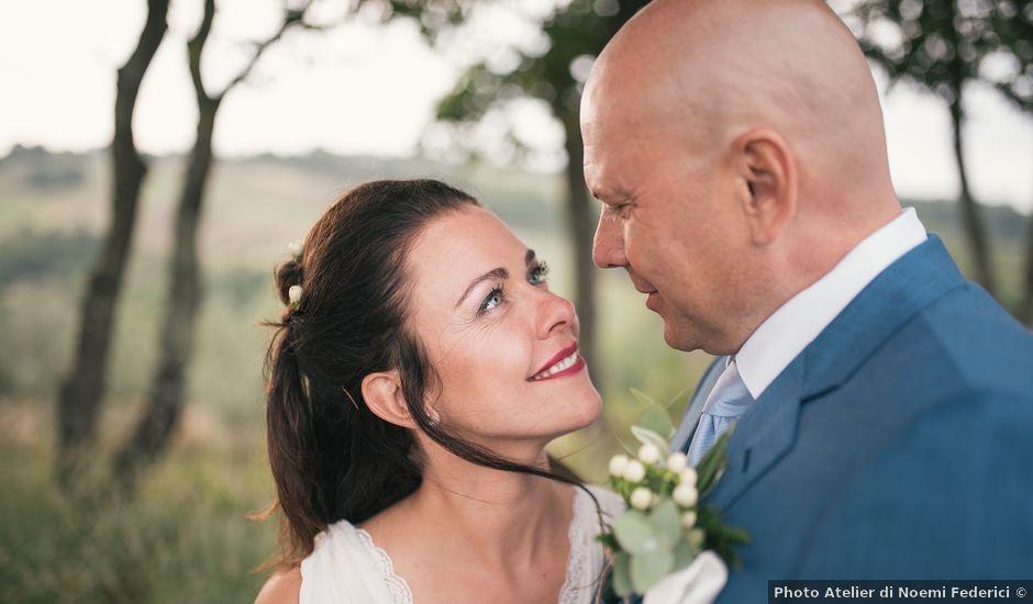 Il matrimonio di Ian e Kety a Acquapendente, Viterbo