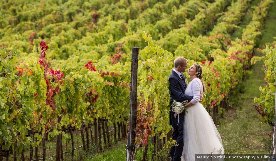 Il matrimonio di Michael e Julia a Gavorrano, Grosseto