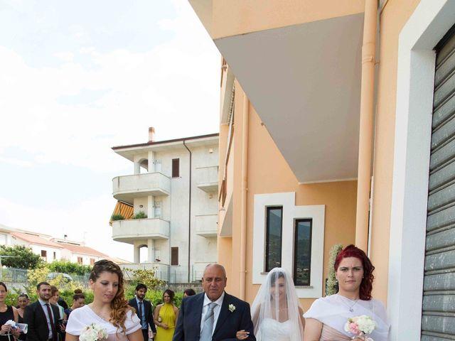 Il matrimonio di Gabriel e Simona  a Belvedere  Marittimo, Cosenza 56