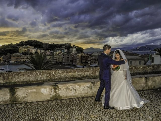Il matrimonio di Stefano e Dayana a Cogorno, Genova 42