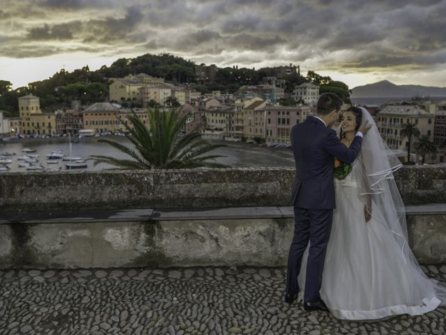 Il matrimonio di Stefano e Dayana a Cogorno, Genova 43