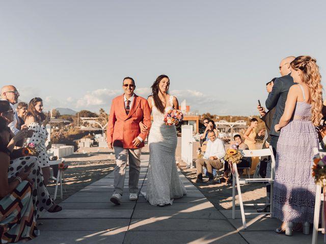 Il matrimonio di Damiano e Alice a Viareggio, Lucca 41