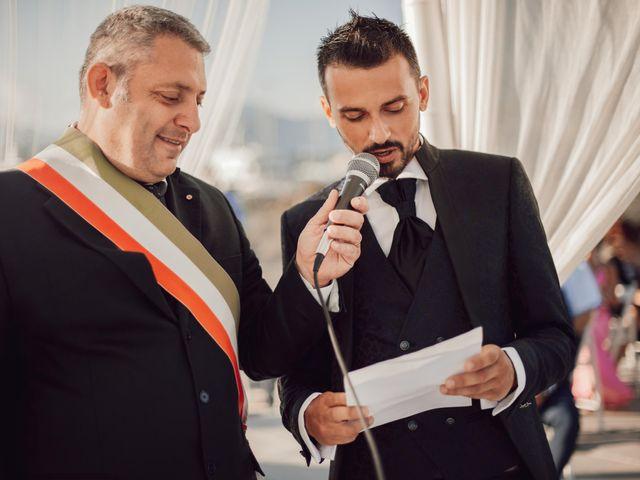 Il matrimonio di Damiano e Alice a Viareggio, Lucca 47