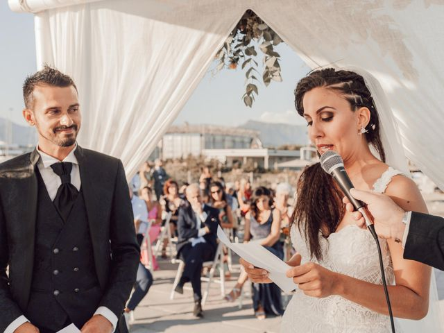 Il matrimonio di Damiano e Alice a Viareggio, Lucca 50