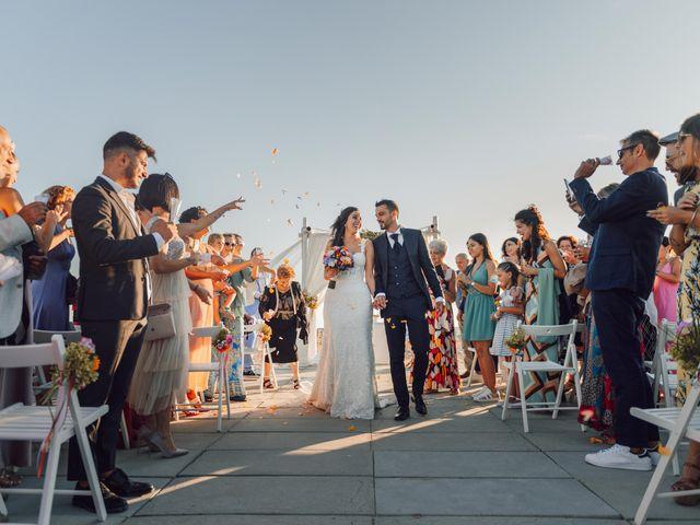 Il matrimonio di Damiano e Alice a Viareggio, Lucca 63