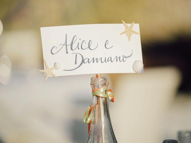 Il matrimonio di Damiano e Alice a Viareggio, Lucca 99