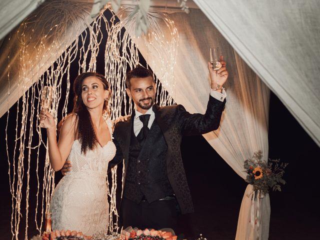 Il matrimonio di Damiano e Alice a Viareggio, Lucca 121