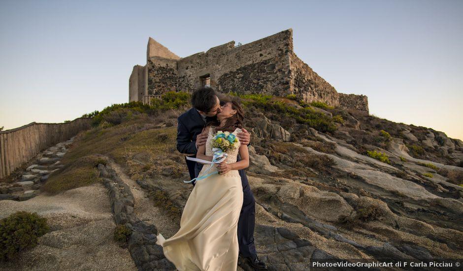 Il matrimonio di Fabio e Federica a Villasimius, Cagliari