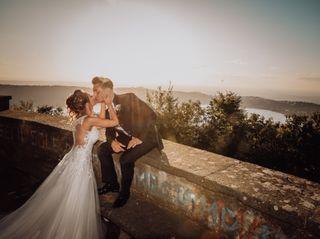 Le nozze di Martina e Cristiano