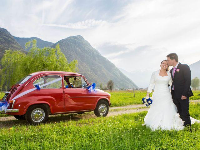 le nozze di Jessica e Flavio
