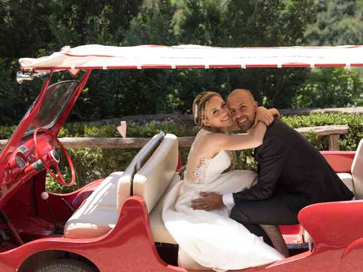 le nozze di Claudia e Andrea
