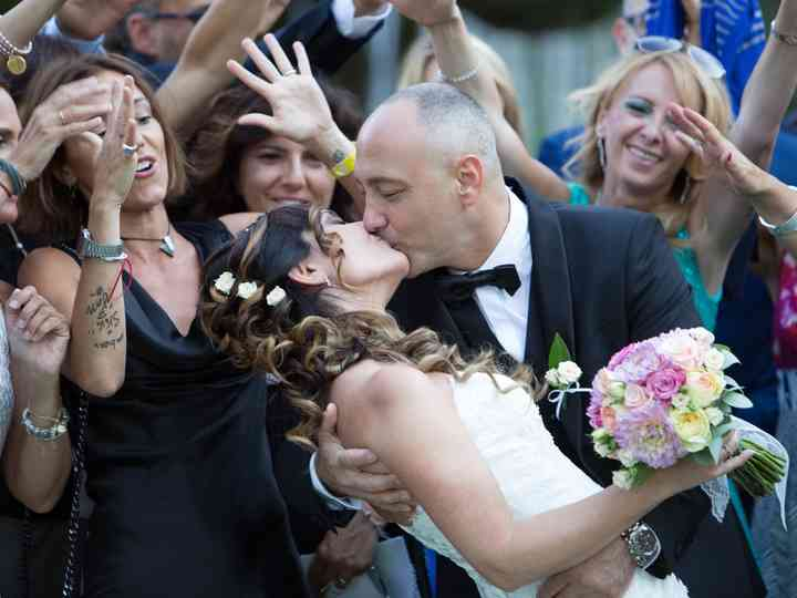 le nozze di Maria e Vittorio
