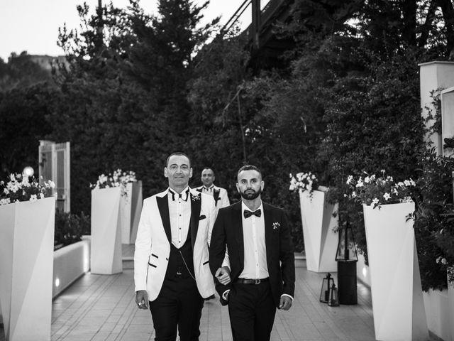 Il matrimonio di Antonio e Rosario a Napoli, Napoli 91