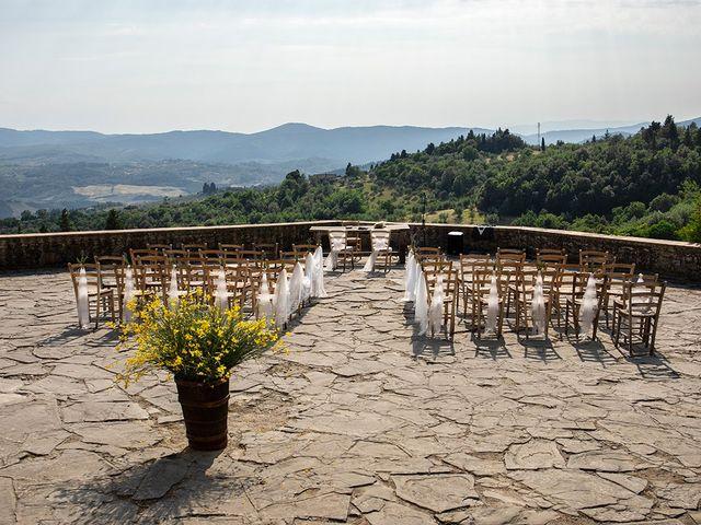 Il matrimonio di Simone e Annalisa a Pelago, Firenze 24
