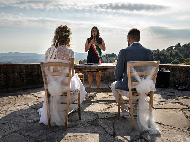 Il matrimonio di Simone e Annalisa a Pelago, Firenze 27