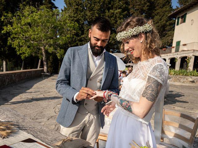 Il matrimonio di Simone e Annalisa a Pelago, Firenze 32
